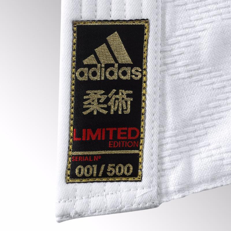 Kimono de judo adidas serie limitee samourai